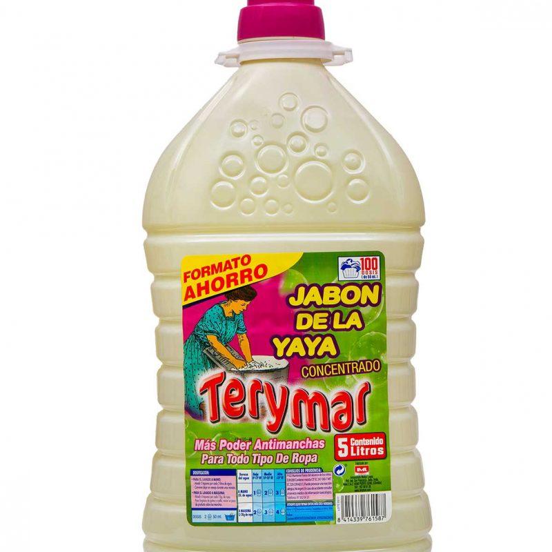 Detergente Liquido Concentrado Jabón De La Yaya 5L