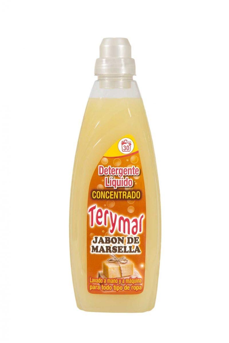 Detergente Liquido Concentrado Jabón Marsella 3L