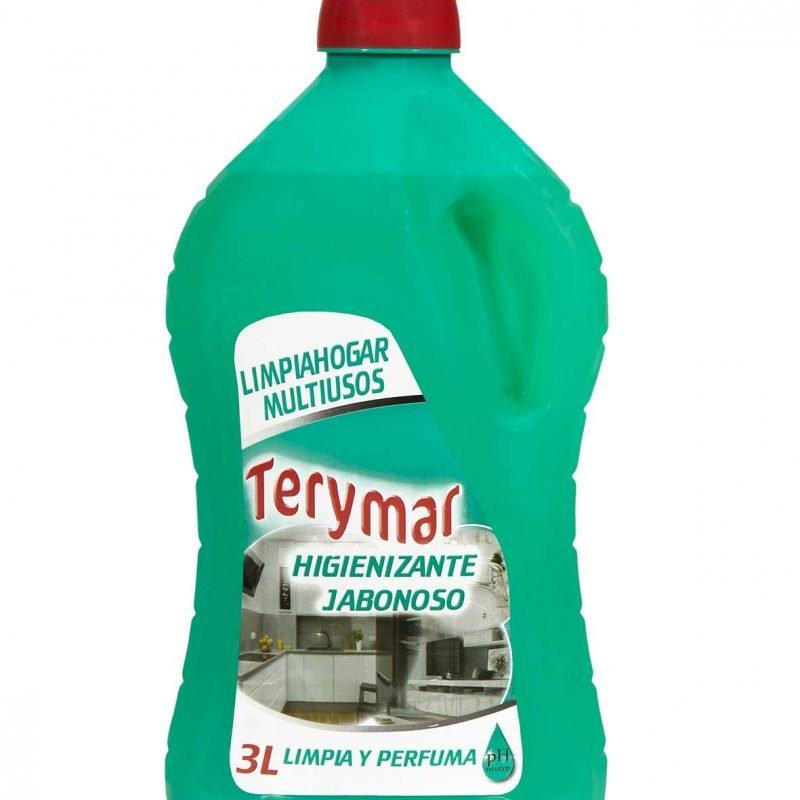 Limpiahogar Multiusos Higienizante Jabonoso 3L