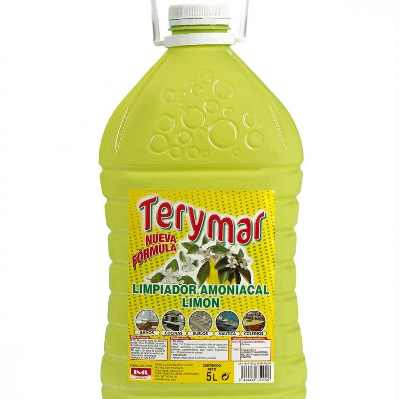 Limpiador amoniacas limon